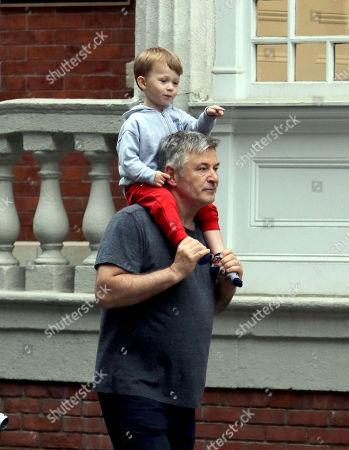 Alec Baldwin and Leonardo Baldwin