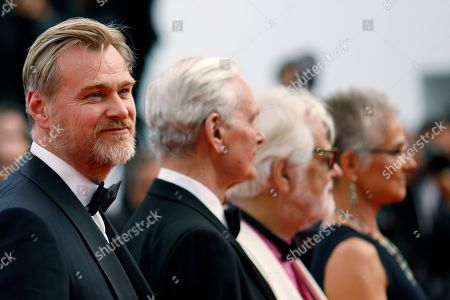 Christopher Nolan arrives for the screening of 'Sink Or Swim (Le Grand Bain)' during the 71st annual Cannes Film Festival, in Cannes, France, 13 May 2018. The movie is presented out of competition at the festival which runs from 08 to 19 May.