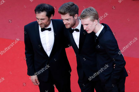 Stock Picture of Arieh Worthalter, Lukas Dhont and Victor Polster