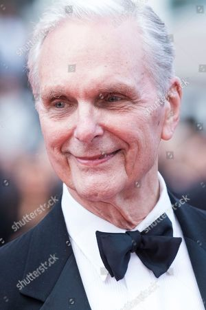 Keir Dullea poses for photographers upon arrival at the premiere of the film '2001: A Space Odyssey' at the 71st international film festival, Cannes, southern France