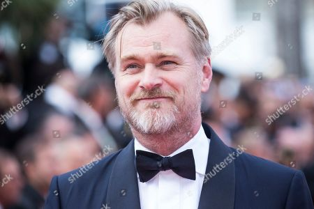Director Christopher Nolan poses for photographers upon arrival at the premiere of the film '2001: A Space Odyssey' at the 71st international film festival, Cannes, southern France