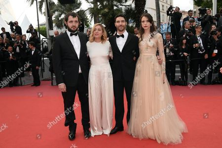 Karim Leklou, Marie Monge, Tahar Rahim and Stacy Martin