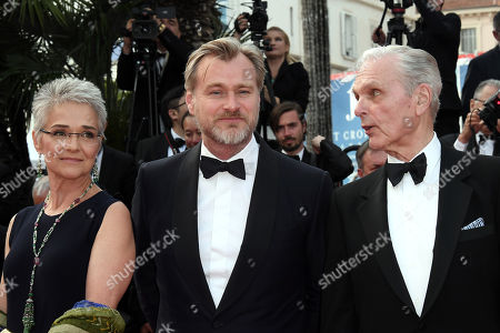 Stock Picture of Keir Dullea, Christopher Nolan, Katharina Kubrick