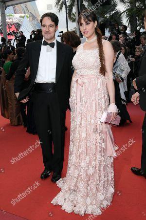 Stock Image of Isabelle Adriani con Vittorio Palazzi Trivelli