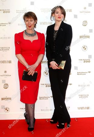 Celia Imrie and Lucy Briggs-Owen