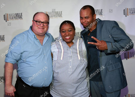 Don Clark, LaQuita James and David Ditmore