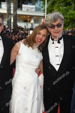 Wim Wenders, his wife Donata Wenders