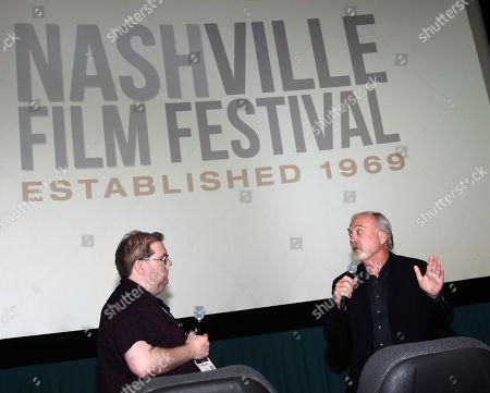 Q&A Moderator Nat Dykeman and Director James Keach