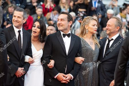 Guillaume Canet, Leila Bekhti, director Gilles Lellouche and Virginie Efira and Benoit Poelvoorde