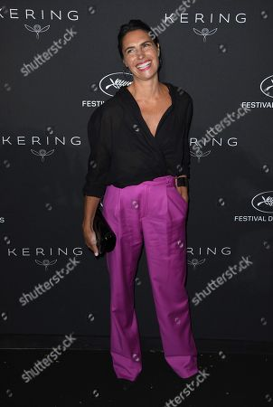 Alessandra Sublet attends the Kering Women in Motion Awards Dinner Party during the 71st annual Cannes Film Festival in Cannes, France, 13 May 2018. The festival runs from 08 to 19 May.