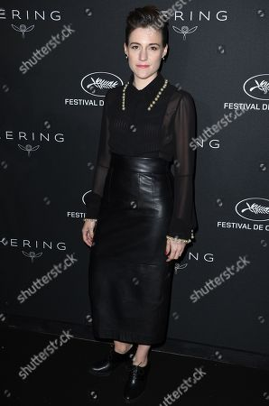 Carla Simon attends the Kering Women in Motion Awards Dinner Party during the 71st annual Cannes Film Festival in Cannes, France, 13 May 2018. The festival runs from 08 to 19 May.