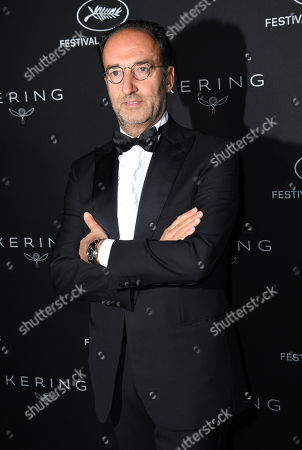 Stock Photo of Roberto Vedovotto attends the Kering Women in Motion Awards Dinner Party during the 71st annual Cannes Film Festival in Cannes, France, 13 May 2018. The festival runs from 08 to 19 May.