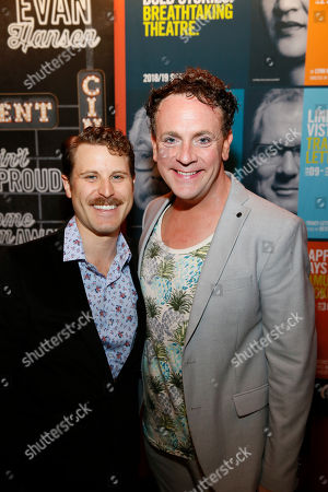 Stock Photo of Andrew Carter and Drew Droege
