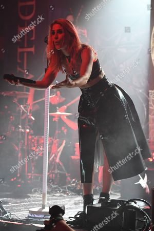 Editorial photo of Delain in concert at Revolution, Fort Lauderdale, USA - 13 May 2018