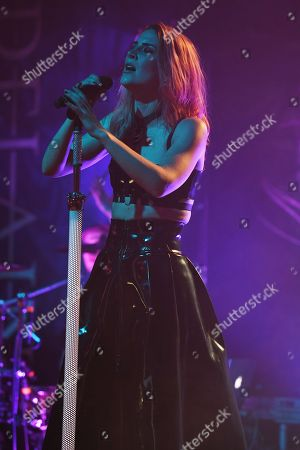 Stock Photo of Delain - Charlotte Wessels