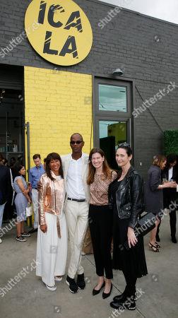 Joy Simmons, Mark Bradford, Erin Wright and Bettina Korek