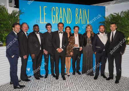 Editorial photo of 'Sink or Swim' premiere, After Party, 71st Cannes Film Festival, France - 13 May 2018