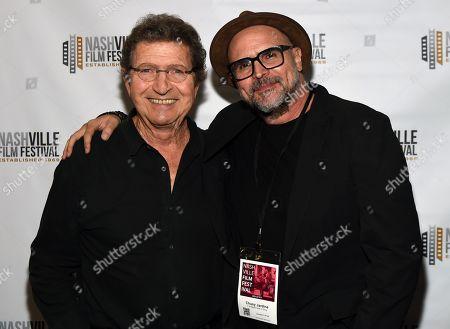 Mac Davis and Director Chusy Jardine.