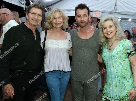 Mac Davis, Lise Davis, Singer/Songwriter Brent Loper and Lisa Harless.