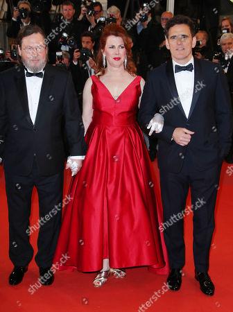 Lars Von Trier, Siobhan Fallon Hogan and Matt Dillon