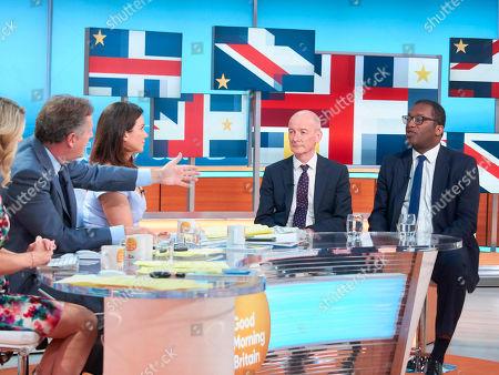 Editorial photo of 'Good Morning Britain' TV show, London, UK - 14 May 2018