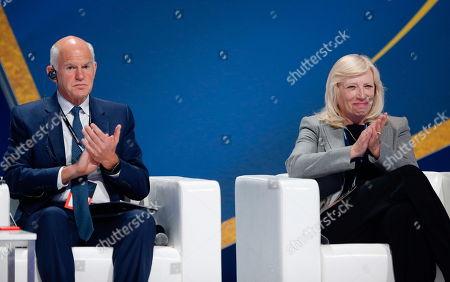 George A. Papandreu and Iveta Radicova