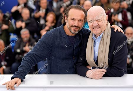 French director Jean-Paul Rappeneau and French actor Vincent Perez (L) pose during the photocall for 'Cyrano de Bergerac' at the 71st annual Cannes Film Festival, in Cannes, France, 14 May 2018. The movie is presented in the section Special Screenings of the festival which runs from 08 to 19 May.
