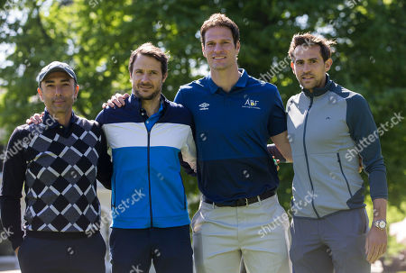 Stock Photo of Roberto Di Matteo, Carlo Cudicini, Asmir Begovic, Charlie Daniels