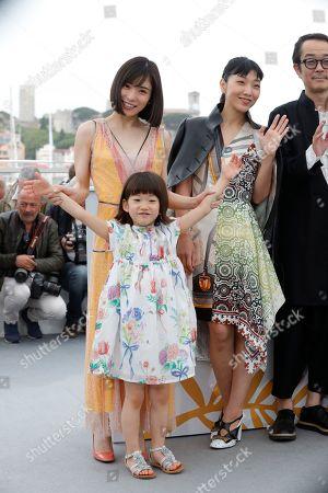 Mayu Matsuoka, Miyu Sasaki and Sakura Ando
