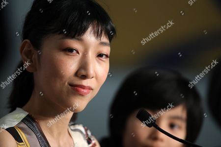 Japanese actress Sakura Ando attends the press conference for 'Shoplifters (Manbiki Kazoku)' during the 71st annual Cannes Film Festival, in Cannes, France, 14 May 2018. The movie is presented in the Official Competition of the festival which runs from 08 to 19 May.