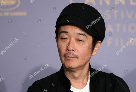 Japanese actor Lily Franky attends the press conference for 'Shoplifters (Manbiki Kazoku)' during the 71st annual Cannes Film Festival, in Cannes, France, 14 May 2018. The movie is presented in the Official Competition of the festival which runs from 08 to 19 May.
