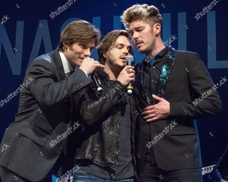 Chris Carmack, Jonathan Jackson and Sam Palladio