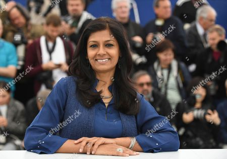 Director Nandita Das poses for photographers during a photo call for the film 'Manto' at the 71st international film festival, Cannes, southern France