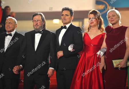 Stock Picture of Lars Von Trier, Matt Dillon and Siobhan Fallon Hogan