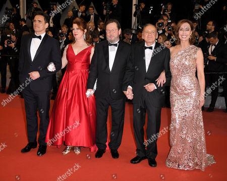 Stock Photo of Matt Dillon, Siobhan Fallon Hogan, Lars Von Trier, Bruno Ganz and Sofie Grabol