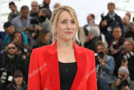 Director Andrea Bescond poses for photographers during a photo call for the film 'Little Tickles' at the 71st international film festival, Cannes, southern France