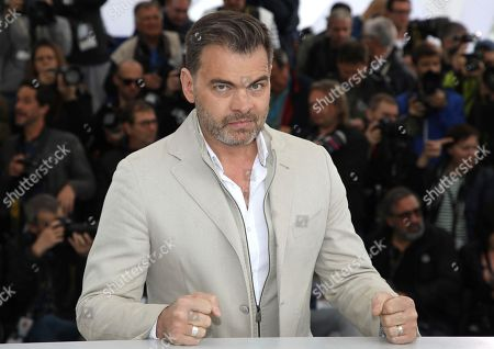 Actor Clovis Cornillac poses for photographers during a photo call for the film 'Little Tickles' at the 71st international film festival, Cannes, southern France