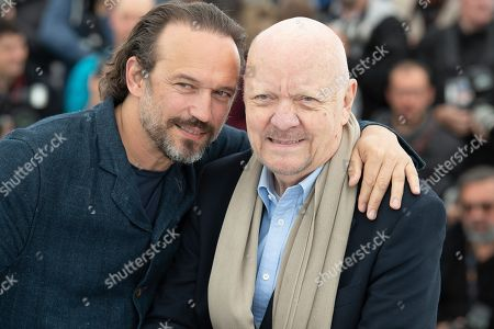 Actor Vincent Perez aand director Jean-Paul Rappeneau