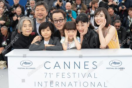 Editorial picture of 'Shoplifters' photocall, 71st annual Cannes Film Festival, France - 14 May 2018