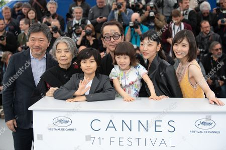 Editorial photo of 'Shoplifters' photocall, 71st annual Cannes Film Festival, France - 14 May 2018