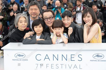 Editorial image of 'Shoplifters' photocall, 71st annual Cannes Film Festival, France - 14 May 2018