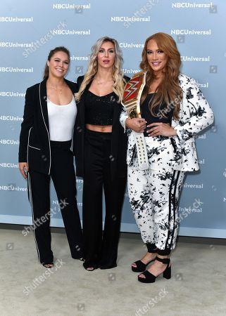 Charlotte Flair, Ronda Rousey and Nia Jax