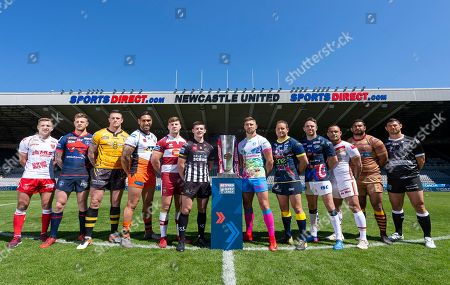 Chris Atkin, Tom Johnstone, Luke Burgess, Jesse Sene-Lefao, Geroge Williams, Danny Walker, Tommy Makinson, Tyrone Roberts, Richie Myler, Paul Aiton, Sebastine Ikahihifo, Mark Minichiello.