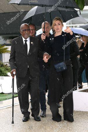 Julie Gayet, Andrew Mlangeni