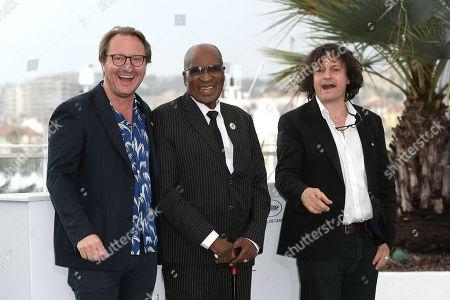 Nicolas Champeaux, Andrew Mlangeni, William Jehannin