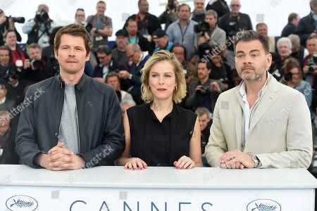 Actor Pierre Deladonchamps, Actress Karin Viard and actor Clovis Cornillac