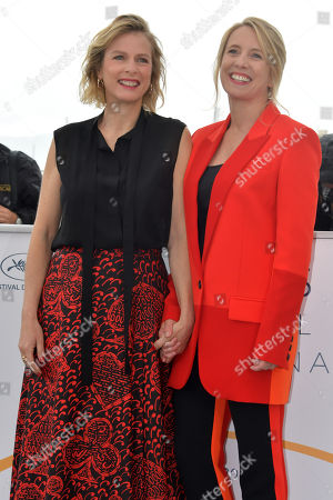 Actress Karin Viard and director Andrea Bescond