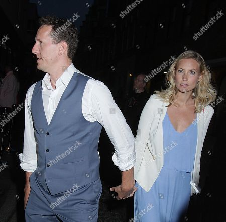 Brendon Cole and wife Zoe Hobbs