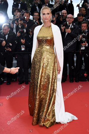 Judit Masco arrives for the screening of 'BlacKkKlansman' during the 71st annual Cannes Film Festival, in Cannes, France, 14 May 2018. The movie is presented in the Official Competition of the festival which runs from 08 to 19 May.