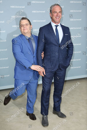 Patton Oswalt, Christopher Meloni